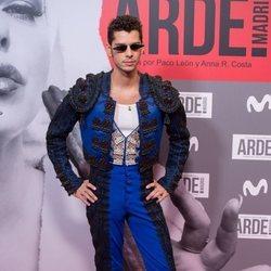 Eduardo Casanova en el estreno de 'Arde Madrid'
