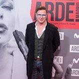 Jorge Cadaval en el estreno de 'Arde Madrid'