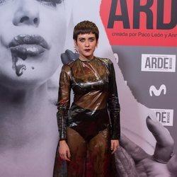 María León en el estreno de 'Arde Madrid'