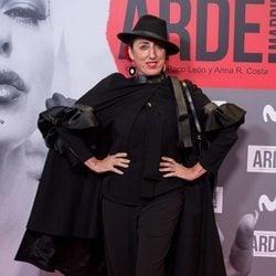 Rossy de Palma en el estreno de 'Arde Madrid'