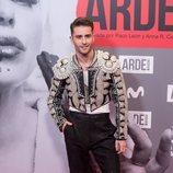 Pelayo Díaz en el estreno de 'Arde Madrid'