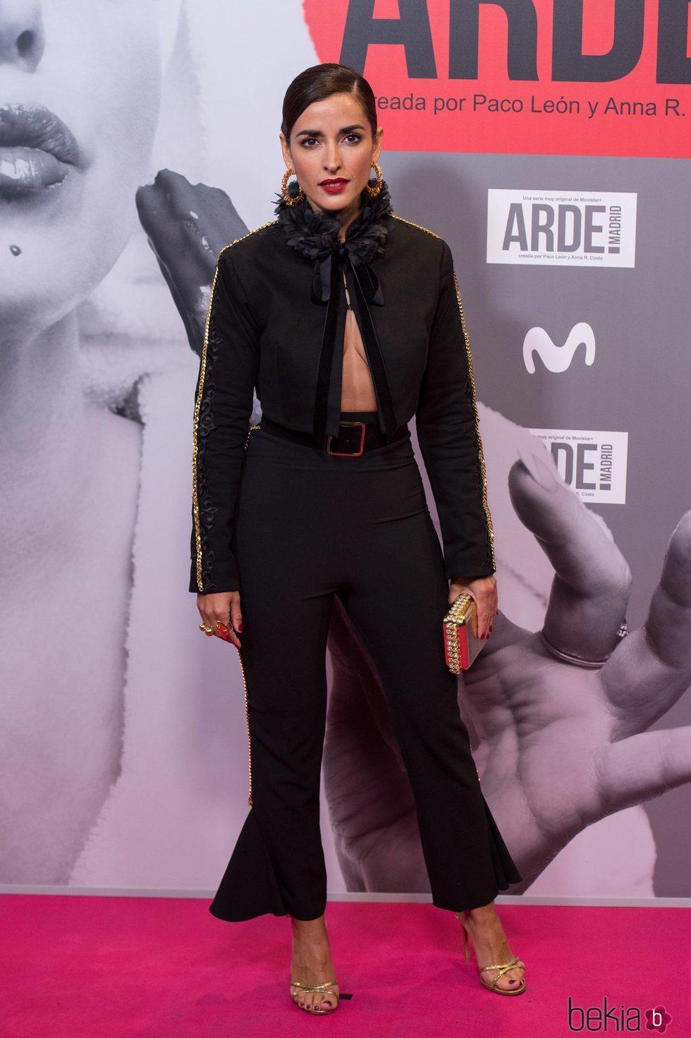 Inma Cuesta en el estreno de 'Arde Madrid'