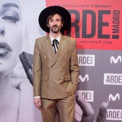 Julián Villagrán en el estreno de 'Arde Madrid'