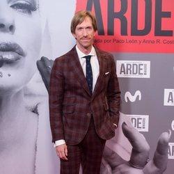 Ken Appelton en el estreno de 'Arde Madrid'