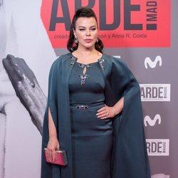 Debi Mazar en el estreno de 'Arde Madrid'