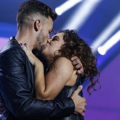 Noelia recibe la visita de su novio durante la Gala 7 de 'OT 2018'