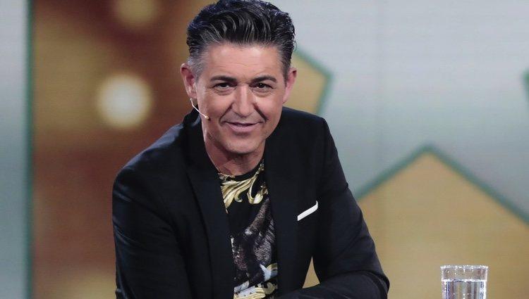 Ángel Garó en el plató de 'GH VIP 6' en la gala 9