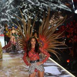 Lais Ribeiro durante el Victoria's Secret Fashion Show 2018
