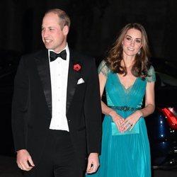 Los Duques de Cambridge asisten a los Tusk Conservation Awards 2018