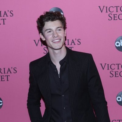 Shawn Medes en la alfombra rosa del Victoria's Secret Fashion Show 2018