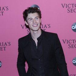 Shawn Medes en la alfombra rosa del Victoria's Secret Fashion Show 2018