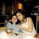 Lady Gaga y su hermana cuando eran pequeñas