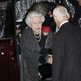 La Reina Isabel llegando al Festival of Remembrance 2018