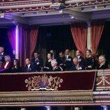 La Familia Real británica durante el Festival of Remembrance 2018