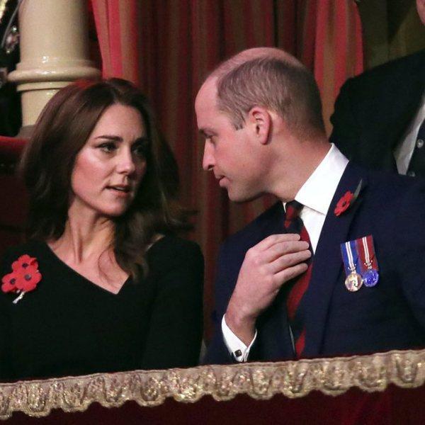La Familia Real británica en el concierto del  Festival of Remembrance 2018