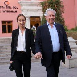 Isabel Preysler y Mario Vargas Llosa en Arequipa