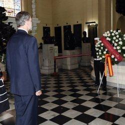 Los Reyes Felipe y Letizia en el Santuario Patriótico de Lima