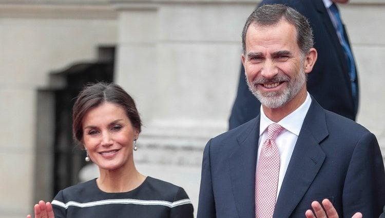Los Reyes Felipe y Letizia, muy sonrientes en su Viaje de Estado a Perú
