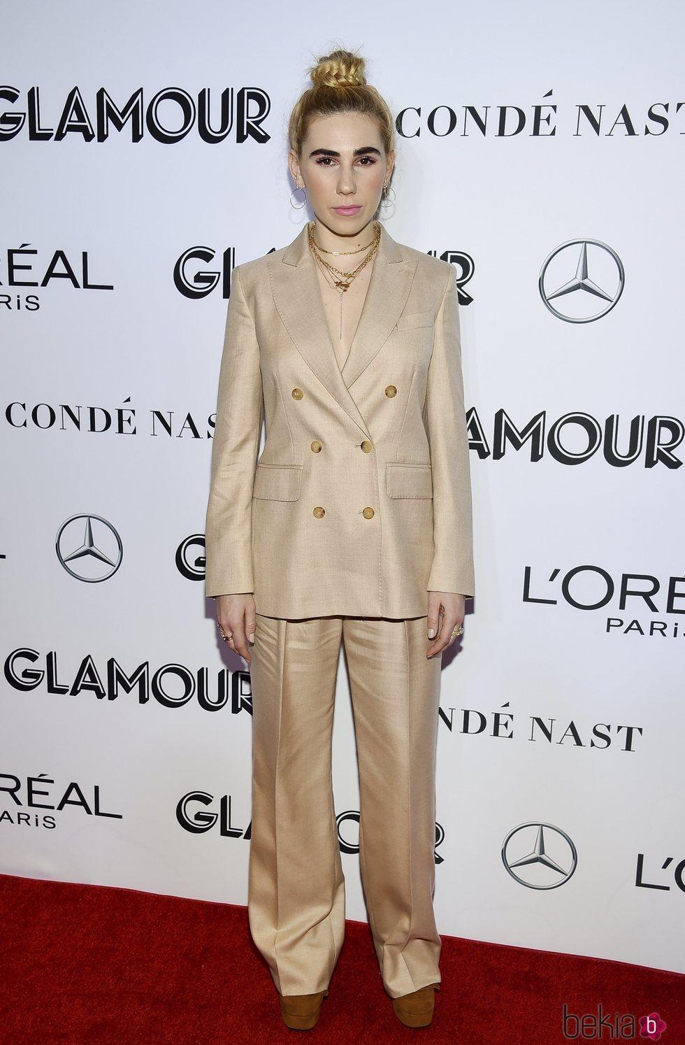 Zosia Mamet en los premios Mujer del Año 2018 de Glamour