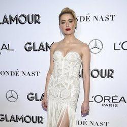 Amber Heard en los premios Mujer del Año 2018 de Glamour