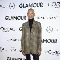 Dilone en los premios Mujer del Año 2018 de Glamour