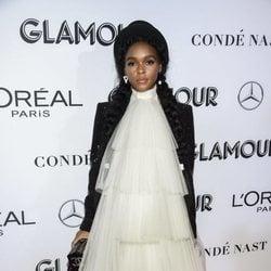 Janelle Monaé en los premios Mujer del Año 2018 de Glamour