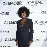 Viola Davis  en los premios Mujer del Año 2018 de Glamour
