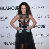 Andie McDowell en los premios Mujer del Año 2018 de Glamour