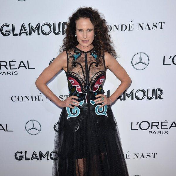 Alfombra roja de los premios Mujer del Año 2018 del Glamour Magazine
