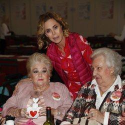 Ágatha Ruiz de la Prada con la Infanta Pilar y Cuqui Fierro en el Rastrillo Nuevo Futuro 2018