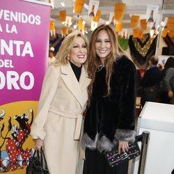 Rosa Benito y Rosario Mohedano en el Rastrillo Nuevo Futuro 2018