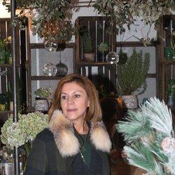 María Dolores de Cospedal en el Rastrillo Nuevo Futuro 2018