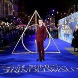 Eddie Redmayne en el estreno de 'Animales Fantásticos: Los Crímenes de Grindelwald'