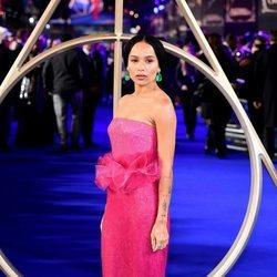 Zoë Kravitz en el estreno de 'Animales Fantásticos: Los Crímenes de Grindelwald'