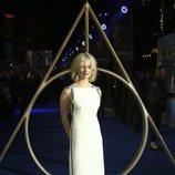Alison Sudol en el estreno de 'Animales Fantásticos: Los Crímenes de Grindelwald'