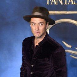 Jude Law en el estreno de 'Animales Fantásticos: Los Crímenes de Grindelwald'