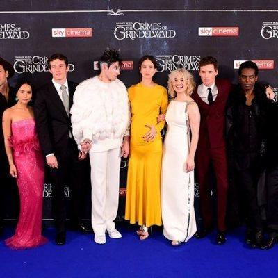 Elenco de 'Animales Fantásticos: Los Crímenes de Grindelwald'