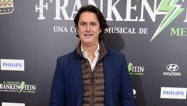 Poty Castillo en el estreno del musical 'El pequeño Frankenstein'