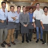 Óscar Higares, Fonsi Nieto, Francisco Rivera, Israel Lancho y Miguel Abellán en el Rastrillo Nuevo Futuro 2018