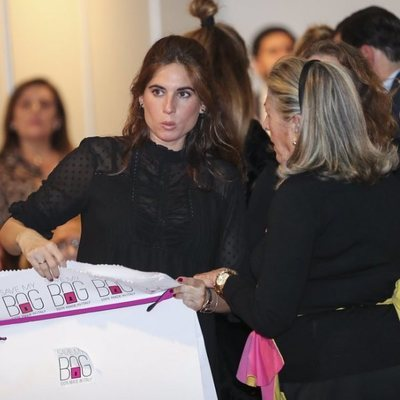 Lourdes Montes en el Rastrillo Nuevo Futuro 2018