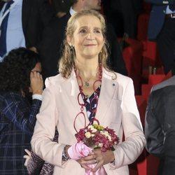 La Infanta Elena en la inauguración de la 28ª edición del SICAB en Sevilla