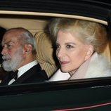 Los Príncipes Michael de Kent en el 70 cumpleaños del Príncipe Carlos