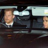 El Príncipe Harry y Meghan Markle en el 70 cumpleaños del Príncipe Carlos