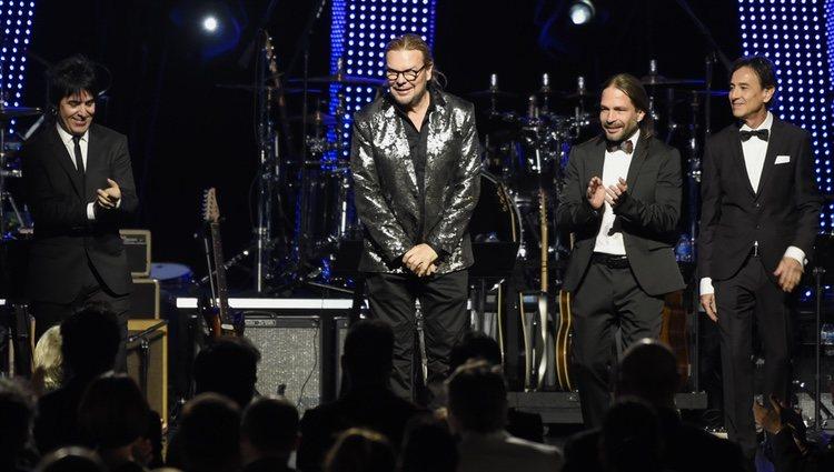 El grupo Maná en la gala de Persona del Año de los Grammy Latinos 2018