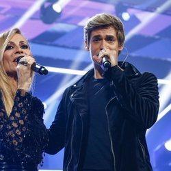 Carlos Baute y Marta Sánchez en la gala de 'Operación Triunfo' 2018