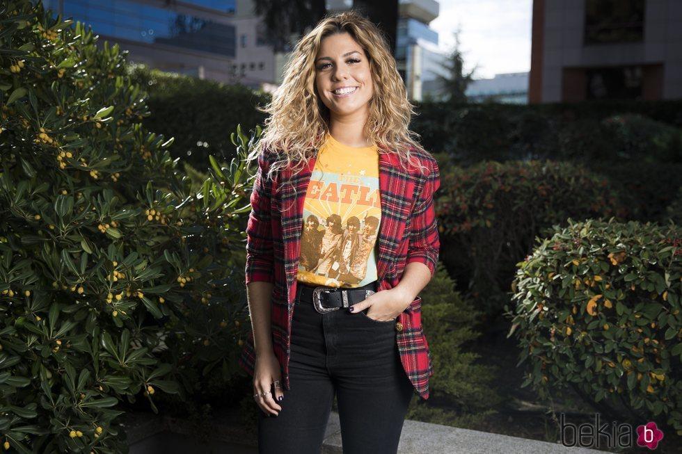 Miriam Rodríguez en un posado oficial por su nuevo disco