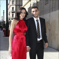 Nuria Bermúdez y Dani Güiza