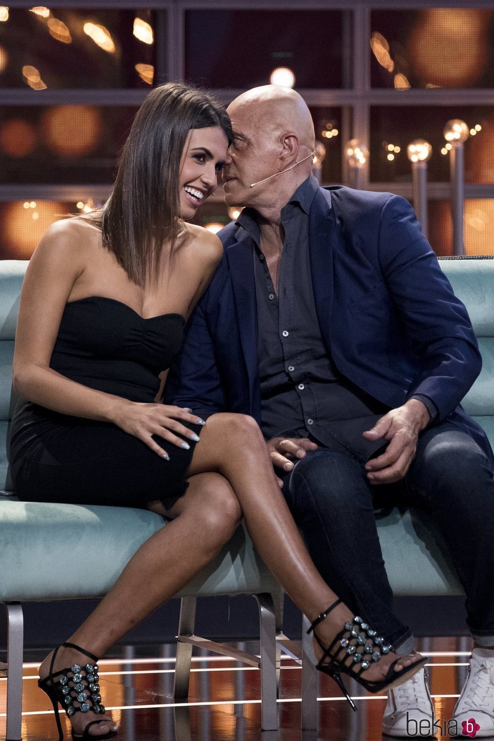 Sofía Suescun y Kiko Matamoros, muy acaramelados en la primera gala de 'GH VIP 6'
