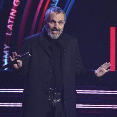 Miguel Bosé en los Grammy Latinos 2018
