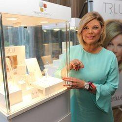 Terelu Campos en la presentación de la colección de la firma TRLU